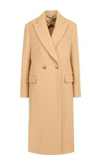Двубортное шерстяное пальто Stella McCartney