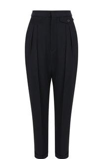 Укороченные брюки со стрелками и отворотами Isabel Marant