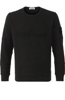 Однотонный хлопковый свитшот Stone Island