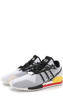 Комбинированные кроссовки Harigane на шнуровке Y-3