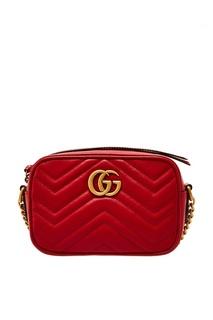 Сумка GG Marmont из кожи Gucci
