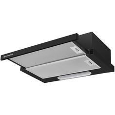 Вытяжка встраиваемая в шкаф 60 см Maunfeld VS LIGHT (С) 60 BLACK