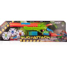 Игрушечное оружие XSHOT Ружье с мишенями Атака Пауков (8 патронов +3 паука-мишени)