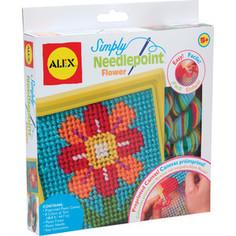 Набор для творчества Alex д/вышивания Цветок с пласт, тупой иглой, от 5 лет(10%) Alex®