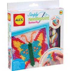 Набор для творчества Alex для вышивания Бабочка с пласт.тупой иглой, от 5 лет (10%) Alex®