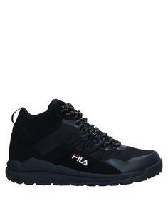 Высокие кеды и кроссовки Fila