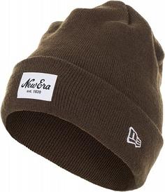 Шапка New Era Lic 847 Ne Patch Knit, размер Без размера