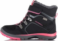 Ботинки утепленные для девочек Merrell M-Moab Fst Polar Mid A/C Wtrpf, размер 37.5