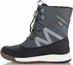 Ботинки утепленные для мальчиков Merrell M-Snow Crush Wtrpf, размер 28.5