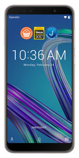 Смартфон ASUS ZenFone Max Pro M1 64Gb, ZB602KL, серебристый