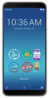 "Смартфон Asus ZenFone Max Pro M1 ZB602KL 128Gb серебристый 3G 4G 2Sim 6"" 1080x2160 And8.1 13Mpix 802"