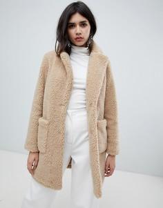 Пальто New Look - Бежевый
