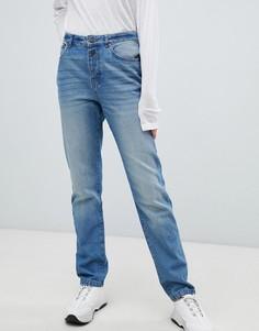 Прямые джинсы с люверсами Noisy May - Синий