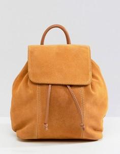 Замшевый рюкзак ASOS DESIGN - Рыжий