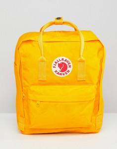 Желтый рюкзак Fjallraven Kanken 16 л - Желтый