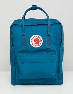 Сине-зеленый рюкзак Fjallraven Kanken 16 л - Зеленый