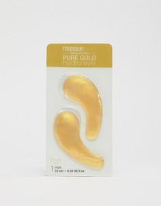Охлаждающие патчи для глаз MasqueBAR Gold Hydro Gel - Золотой