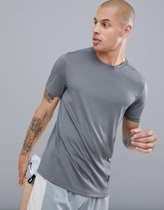 Серая футболка ASOS 4505 - Серый
