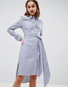 Платье-рубашка в полоску 2NDDAY - Мульти