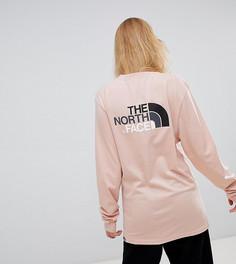Розовый лонгслив The North Face Easy эксклюзивно для ASOS - Розовый