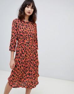 Платье с леопардовым принтом 2NDDAY - Мульти