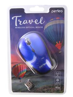 Мышь Perfeo Travel Dark Blue PF-36-WOP-DBL PF_A4083