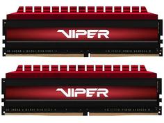 Модуль памяти Patriot Memory Viper 4 Red DDR4 DIMM 3200MHz PC4-25600 CL16 - 16Gb KIT (2X8Gb) PV416G320C6K Патриот