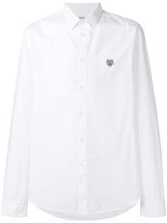 рубашка с длинными рукавами и логотипом Kenzo