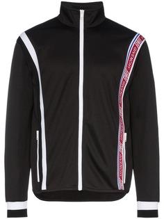 спортивная куртка со вставками и логотипом Givenchy