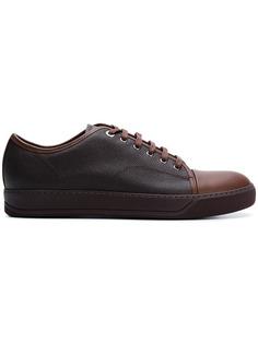 теннисные кроссовки с контрастным носком Lanvin