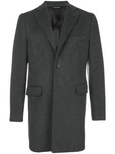 короткое однобортное пальто Tonello