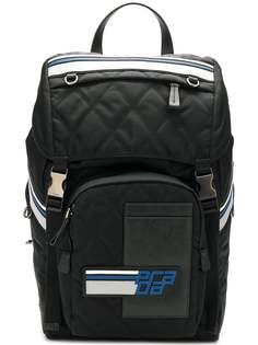 рюкзак с нашивкой логотипа Prada