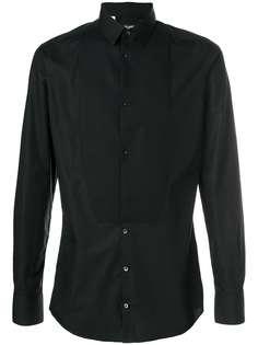 рубашка-смокинг узкого кроя Dolce & Gabbana