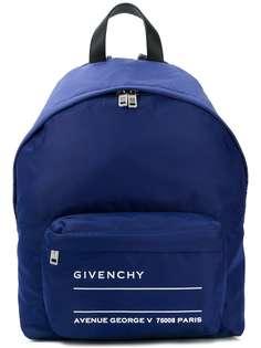 рюкзак с логотипом Givenchy