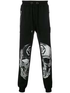 спортивные брюки с декорированным черепом Philipp Plein