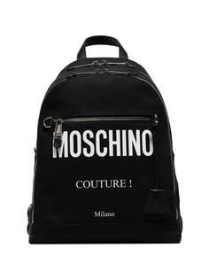 рюкзак с принтом логотипа Moschino