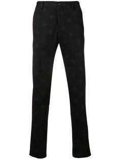 брюки кроя слим с принтом Etro