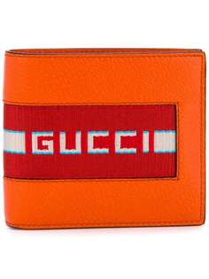 бумажник с логотипом Gucci