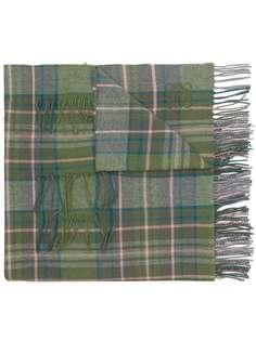 large-check scarf Loewe