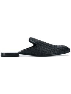 braided slip on loafers Bottega Veneta