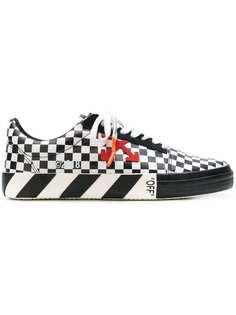 кроссовки в шашечку Off-White