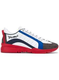 кроссовки с логотипом Dsquared2