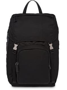 рюкзак с аппликацией с логотипом Prada