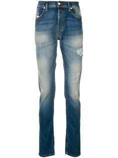 faded bleached jeans Diesel
