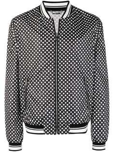 куртка-бомбер в горох Dolce & Gabbana