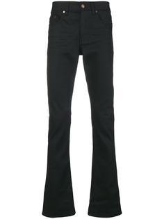 расклешенные джинсы средней посадки Saint Laurent