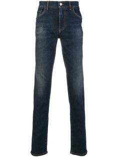 выбеленные джинсы кроя слим Dolce & Gabbana