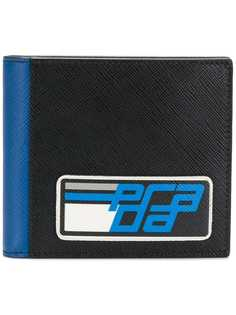 бумажник с принтом логотипа Prada