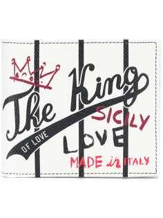 бумажник 'King' с принтом Dolce & Gabbana