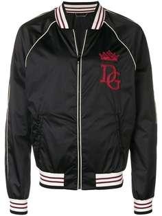 куртка-бомбер с нашивкой Dolce & Gabbana